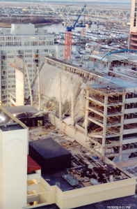 Tropicana Garage, Partial Collapse