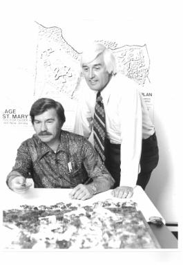 Ivan Becica, A.I.A., and John T. Oliver, A.I.A., 1973