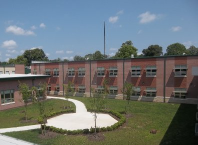 George L. Catrambone Elementary Courtyard