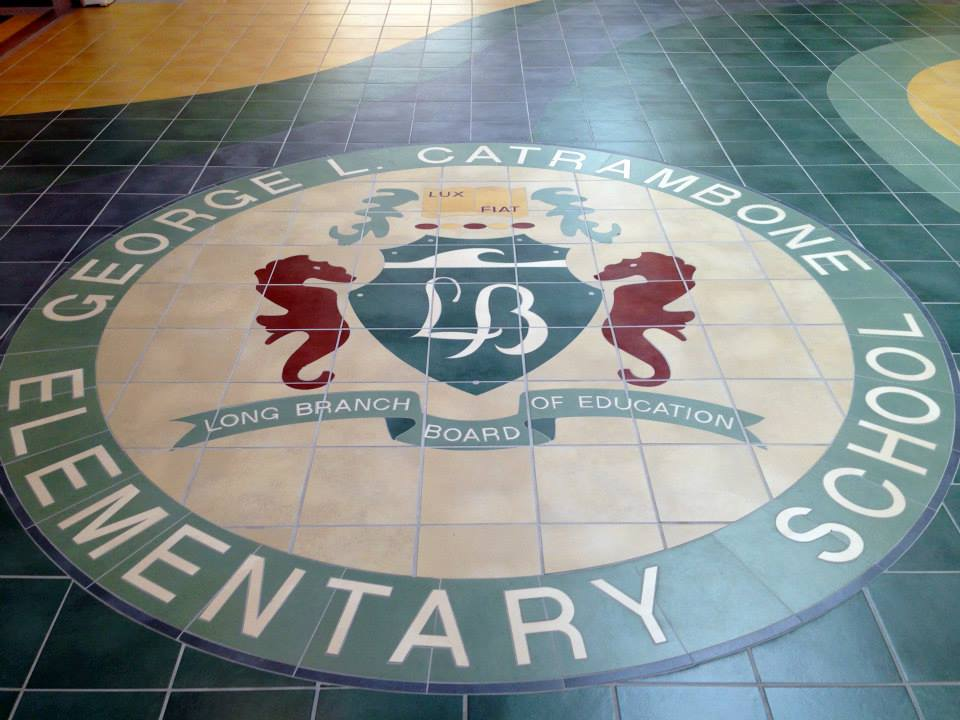 GLC Elementary School Logo at Main Entrance