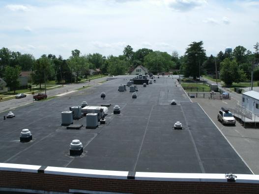 Charles L. Spragg Elementary School Existing Roof