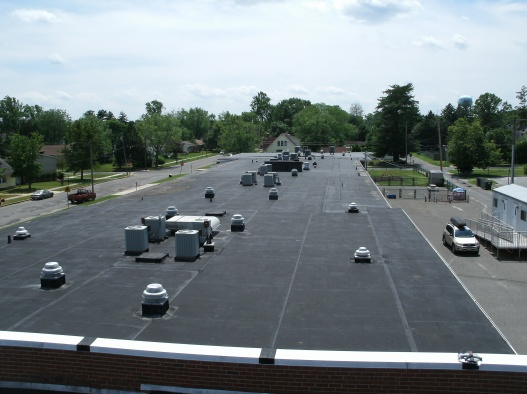 Charles L. Spragg Elementary School Existing Roof