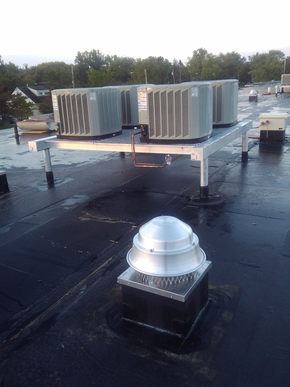 Charles L. Spragg Elementary School New Roof and HVAC Progress