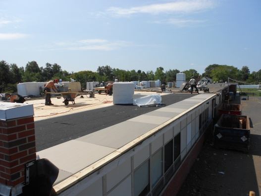 Charles L. Spragg Elementary School Roof Progress